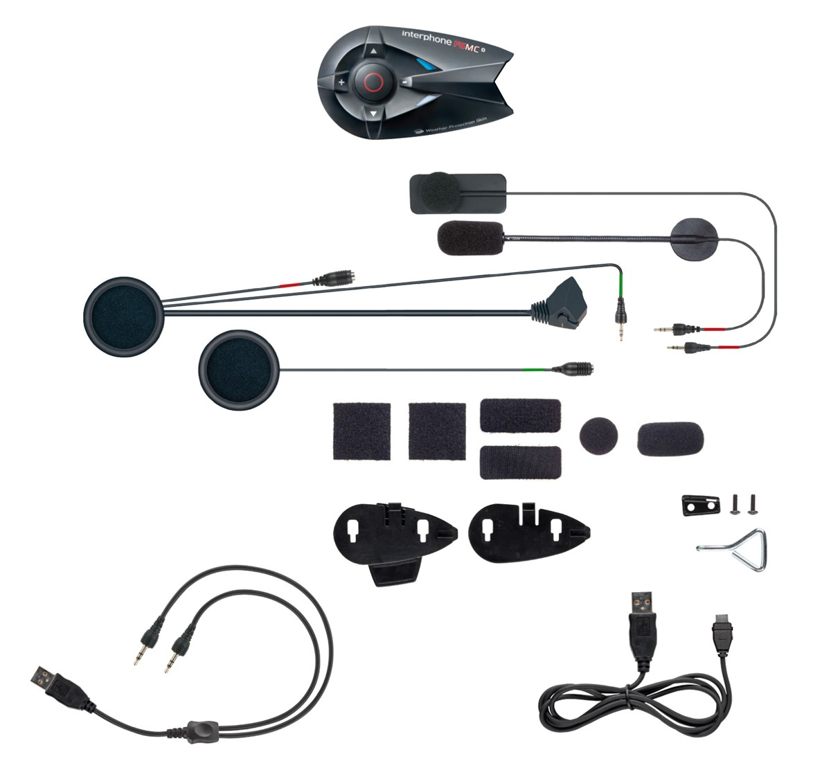 Interphone F5MC Bluetooth Helmet Headset - INTERPHONEF5MC - Interphone Wireless