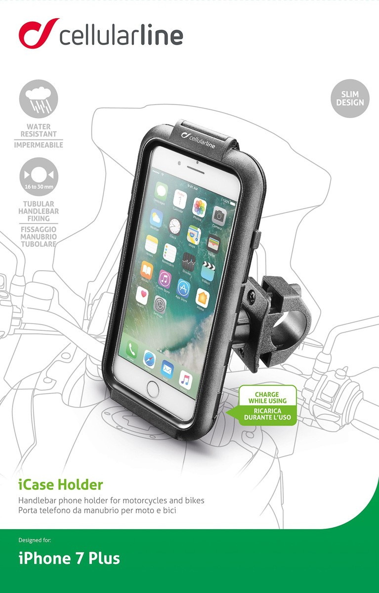 online store c3969 00234 Interphone iCase and Handlebar Motorcycle Mount for iPhone 7 Plus ...