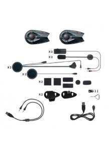 Interphone F5MC Bluetooth Helmet Headset Twin Pack - INTERPHONEF5MCTP