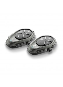 Interphone Tour Motorcycle Headset and Intercom Twin Pack