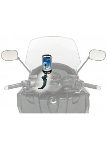 Samsung Galaxy S3 Mounted on Non-Tubular Handlebars