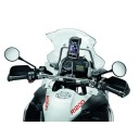 iPhone 6 case mounted on BMW Motorcycle