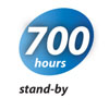 700 hours standby